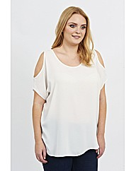 Koko Cold Shoulder Blouse