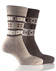 Jeep Fairisle Jaquard Socks