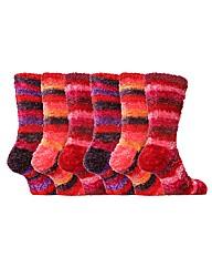 So Cozy Feather Socks