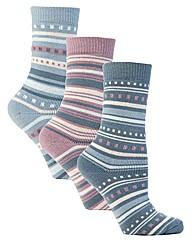 Jennifer Anderton Jacquard Thermal Socks