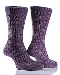 Jeep Distressed Yarn Socks