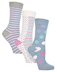 Jennifer Anderton Jacquard True Socks