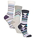 Jennifer Anderton Jacquard True Socks