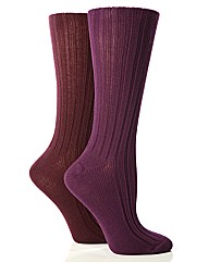 Jennifer Anderton Rib Boot Socks