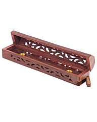 Decorative Sheesham Wood Box Fretwork