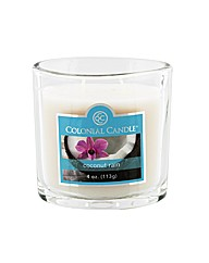 Colonial Candle 4oz Coconut Rain