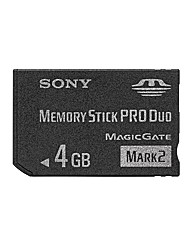 Sony MSMT4GN 4Gb Mem Stick ProDuo MK II