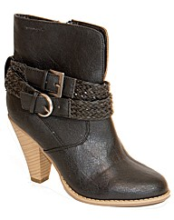 Strawberry Cowboy Ankle Boot