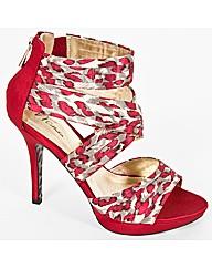 VT Collection Leopard Platform Sandal