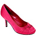 VT Collection Knotted Vamp Satin Court
