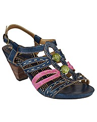 Riva Hassell Leather Womens Sandals
