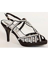VT Collection Strappy Diamante Sandal