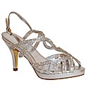 VT Collection Strappy Diamante Sandal