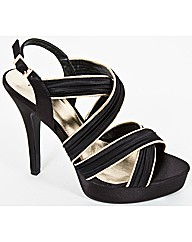 VT Collection Piped Sandal