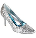 Perfect Glitter Pointed Toe Court Shoe