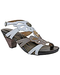 Riva Dolphin Leather Womens Sandals
