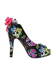Iron Fist Sweet Tooth Peep Toe Platform