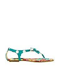 Iron Fist Shanghai Lady Flat Sandal