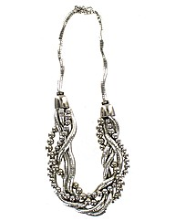 Twisted Statement Necklace