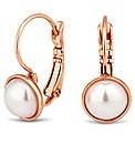 Jon Richard Rose Gold Pearl Earring