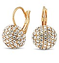 Jon Richard Crystal Ball Drop Earring