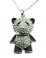 Ladies crystal jewellery set