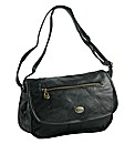 Ladies Patch Leather Handbag