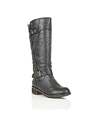 Lotus Kiln High Leg Boots
