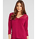 Pandora Long Sleeve PJ Top