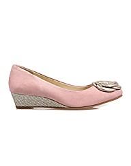 Gabriel - Rose Suede/Silver Shoe