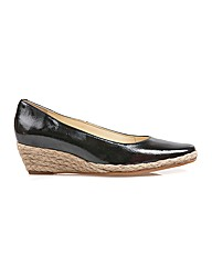 Van Dal Alto - Black Feature / Jute Shoe