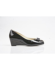 Van Dal Bay - Black Patent Shoe