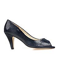 Van Dal Walsingham -  Navy Liz Prt Shoe