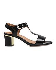 Malone - Black Sandal