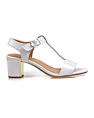 Malone - Bright White Sandal
