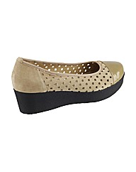Riva Mancini Patent/Suede Womens Shoes
