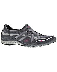 Skechers Breathe Easy Low Top Trainers