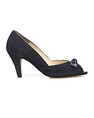 Van Dal Heydon - Navy Suede/Pat Shoe