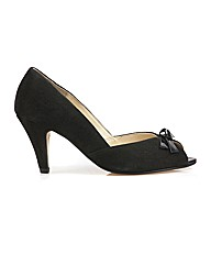 Van Dal Heydon - Black Suede/Patent Shoe