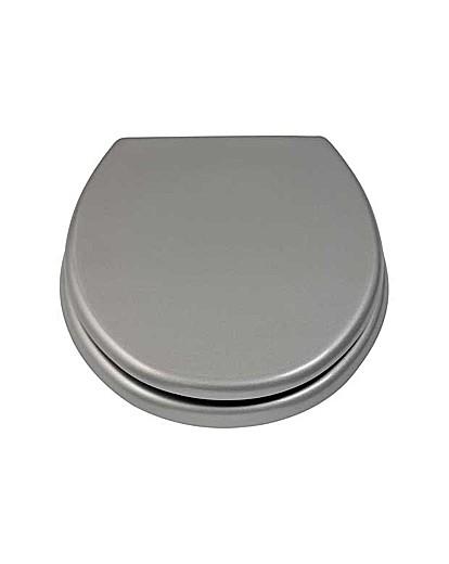 Glitter Toilet Seat - Silver