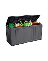Grey Keter Hatfield Garden Storage Box