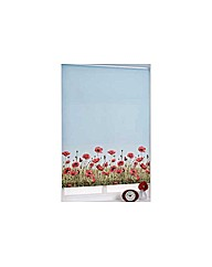 6ft Poppy Meadow Roller Blind