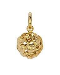Gold Plated Sterling Silver Charm