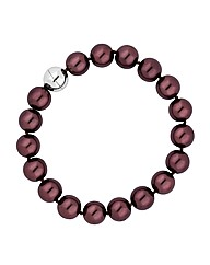 Jon Richard Chocolate Pearl Bracelet