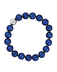 Jon Richard Blue Pearl Bracelet