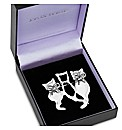 Jon Richard Trio Cat Brooch