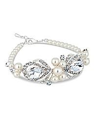 Alan Hannah Pearl Wrapped Bracelet