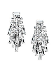 Jon Richard Diamante Cluster Earring