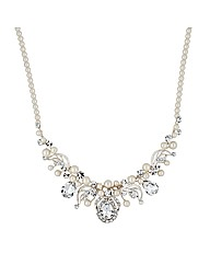 Alan Hannah Pearl Crystal Necklace
