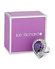 Jon Richard Crystal Cocktail Ring
